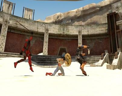 Deathstroke & DeadPool VS WonderWoman