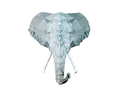 ▲ Wild Vectors and Triangles 3 - Elephant