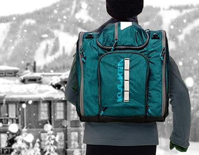 Kulkea - Powder Trekker - ski boot bag
