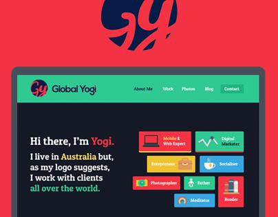 GlobalYogi.Me - Personal Website