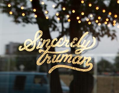 Sincerely Truman Vinyl