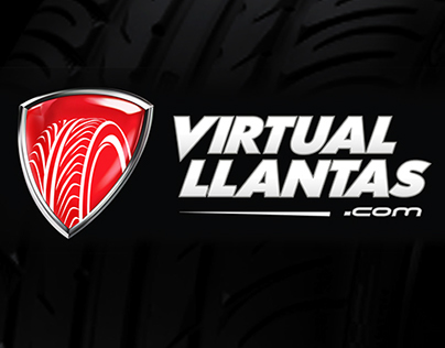 Rebrand & new website of VIRTUAL LLANTAS (Colombia)