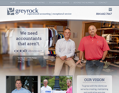 Greyrock Accounting WordPress Website