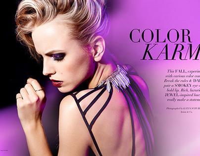 """Color Karma"" for MOD Magazine"