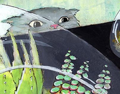 Little Terrariums - Gouache Illustration