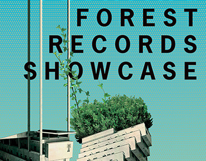 Floating Forest Records Showcase poster
