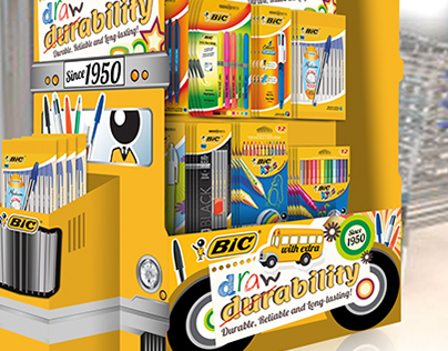 BiC Back to school Point of Sale Concept
