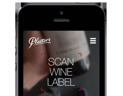 Platter's Wine Guide iOS app - work in progress
