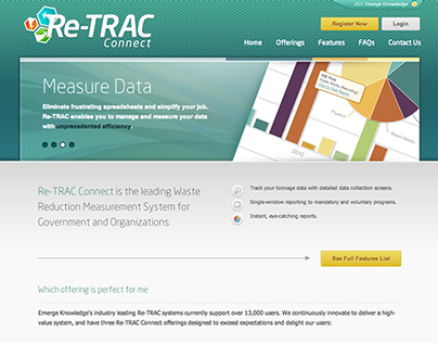 Re-TRAC Connect Website (2012)