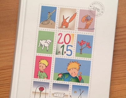 """Little Prince"" desktop calendar 2015"
