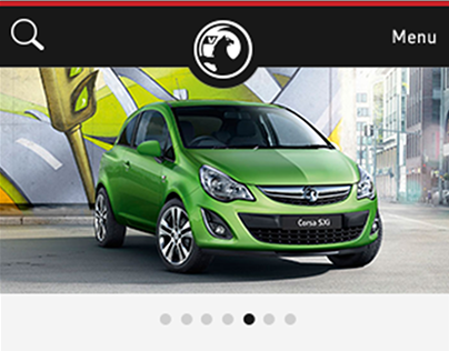 Vauxhall Mobile Site