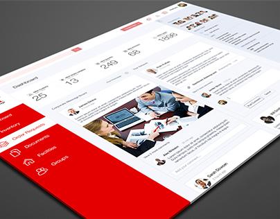 Asset Management Tool - Dashboard Design