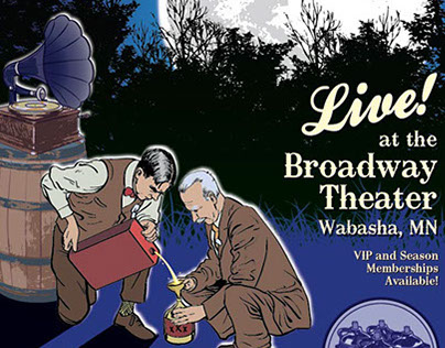 Moonshine Showcase 2013 - Tour Poster