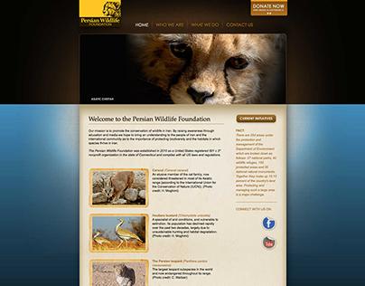 Persian Wildlife Website