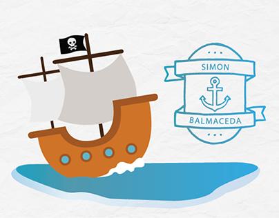 Simón, un cuento de piratas