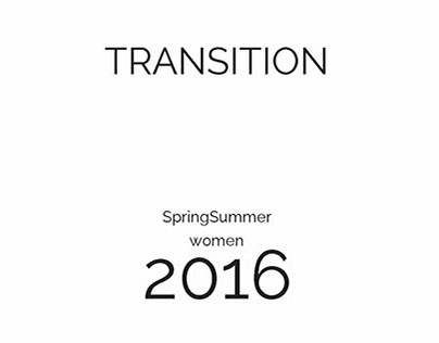 TRANSITION- Trend Report SS 2016