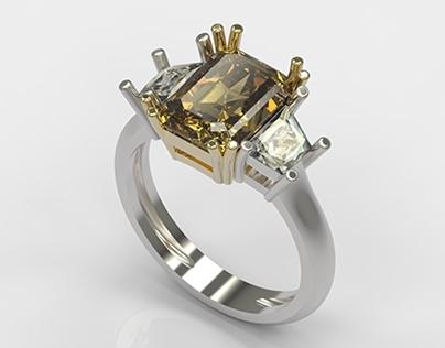 TED Diamond Ring, MuraT BozeR