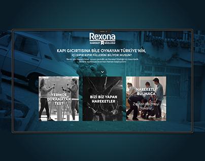 Rexona Micropage Design