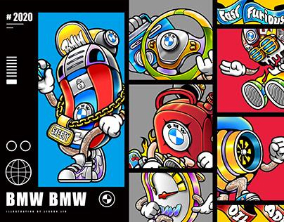 2020 | BMW Illustration Design