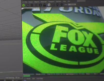 FOX LEAGUE PROGRAMME LOGOS 3D DESIGN 2018