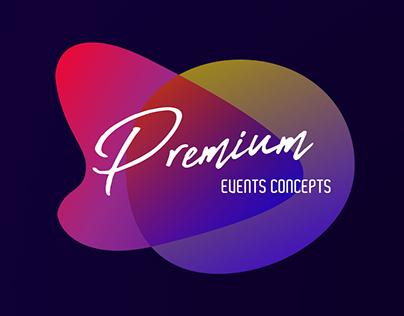 Premium Events Concepts Branding