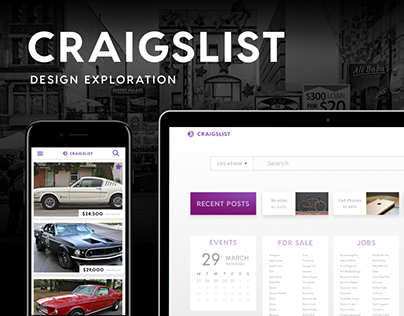 Craigslist Design Exploration