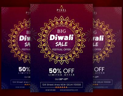 Diwali Sale Flyer