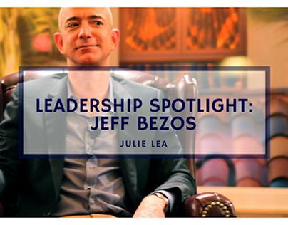 Leadership Spotlight: Jeff Bezos