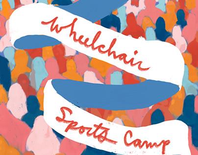 Wheelchair Sports Camp Flyer for Sally Centigrade