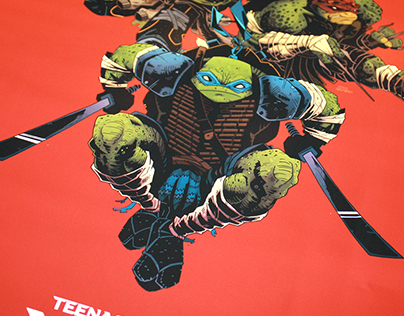 "TMNT ""Legend of the yokai"""