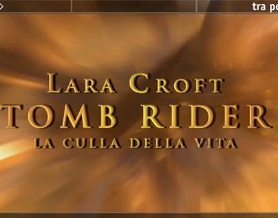 "Promo ""Tomb Raider"" - Italia 1 - MEDIASET"