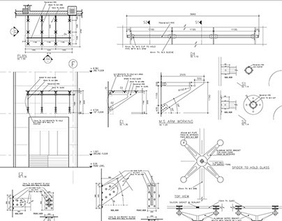 Glass Canopy, Manky Ladder & Parking Details