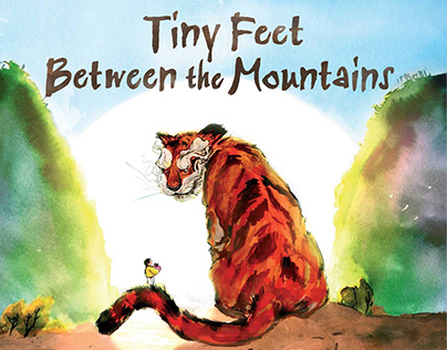Tiny Feet Between the Mountains