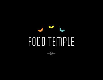 FOOD TEMPLE // LOGO DESIGN // BRANDING