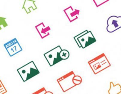 Icons für Redesign Eventim