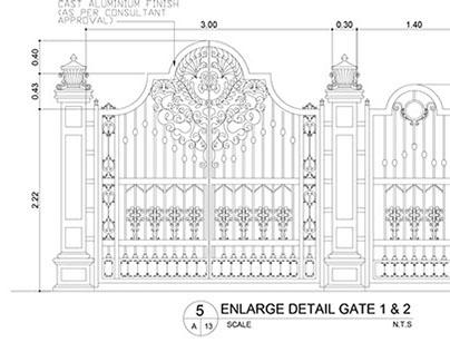 MAIN GATE & BOUNDARY WALL