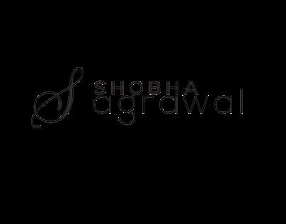 Shobha Agrawal Spiritual Healer Logo Design