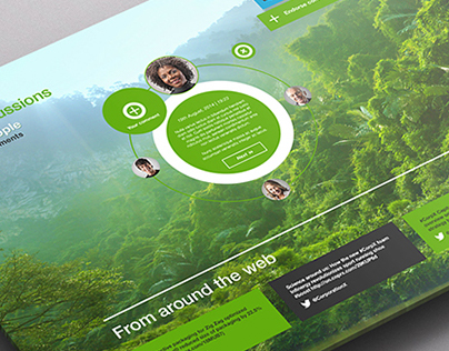 Ecosystem :: A Global Conversation :: User Interface