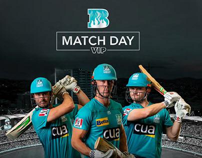 Cricket team poster - sport template