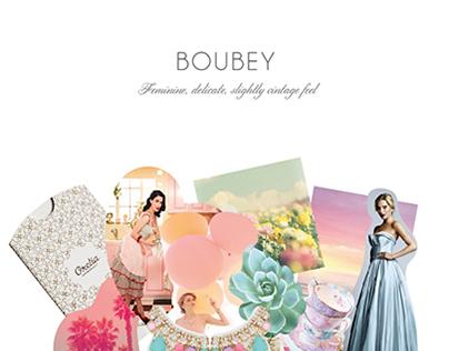Boubey Branding+print material