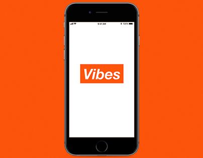 Vibes - A Music App
