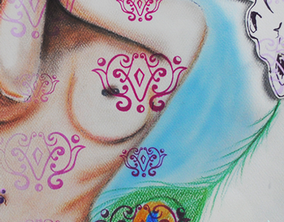 Amuleto (Ilustración personal)