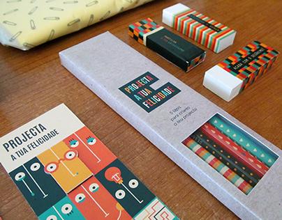 Projecta a tua Felicidade - Merchandising project