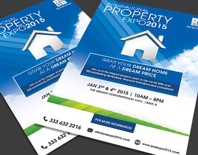 Property Expo Event Flyer