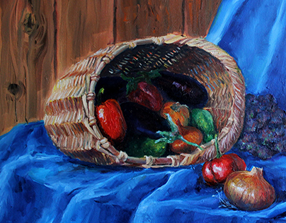 Oil paintings. Mix