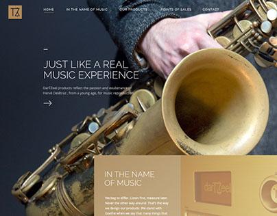 Dartzeel - Music experience website