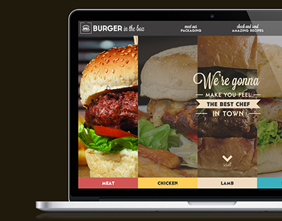 Burger in the Box - Branding & UI