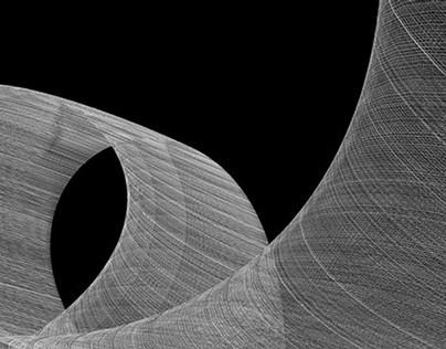 """Gauze"" - Code drawings July 2014"