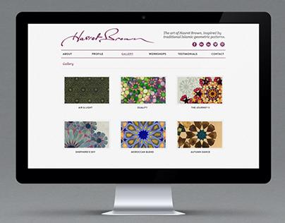 HasretBrown.com - Website Design