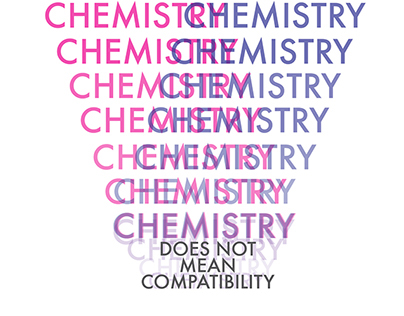 Chemistry does not mean compatibility magazine artwork